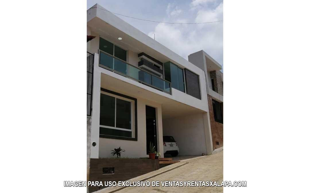 Casas nuevas en Xalapa